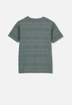 Cotton On - Max skater short sleeve tee - green