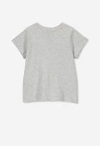 Cotton On - Jamie short sleeve tee - grey