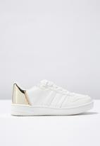 Cotton On - Spliced trainer - white & gold