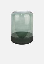 Present Time - Majestic glass vase large - dark green
