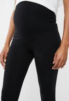 Superbalist - 2 Pack maternity leggings - black