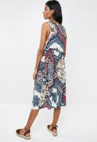 Superbalist - Mixed print dress - multi