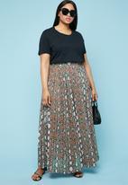 Superbalist - Pleated maxi skirt - multi