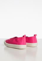 POP CANDY - Canvas slip on cerise - pink