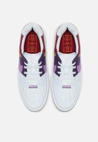Nike - Air Force 1 Sage Low Lux - football grey/hyper violet-team red