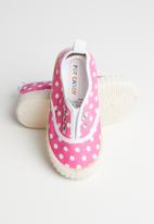 POP CANDY - Printed sneaker - pink & white