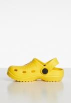POP CANDY - Crab clog - yellow