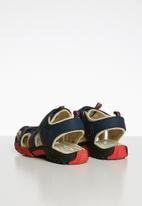 POP CANDY - Cage sandal - navy