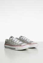 Converse - Chuck Taylor all star OX sneaker - silver