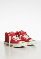 Converse - Chuck Taylor all star street style sneaker - red