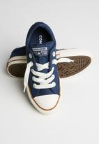 Converse - Chuck Taylor All Star street style sneaker - navy