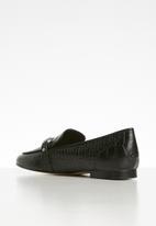 ALDO - Astawia leather loafer - black