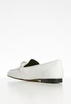ALDO - Astawia leather loafer - white