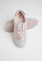 Call It Spring - Sauwia glitter sneaker - peach & blue