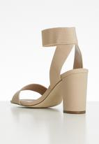 Call It Spring - Lugubrosa ankle strap block heel - neutral