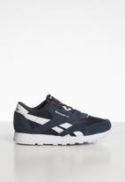 Reebok Classic - Kids classic nylon sneaker - navy & white