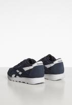 Reebok Classic - Classic nylon sneaker - navy & white