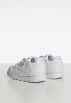 Reebok Classic - Boys classic leather sneaker - white