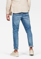 G-Star RAW - 3301 slim-azure stretch denim - blue