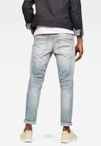 G-Star RAW - 3301 slim-romer stretch jeans - grey