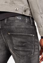 G-Star RAW - Revend skinny elto super stretch jeans - black