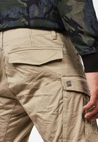 G-Star RAW - Rovic zip 3D straight tapered - beige