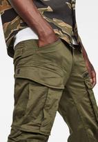 G-Star RAW - Rovic zip 3D tapered - green
