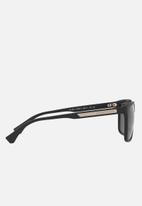 Emporio Armani - Retro sunglasses 56mm - black