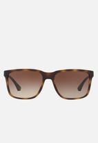 Emporio Armani - Retro sunglasses 56mm - havana