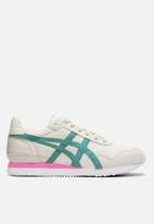 Asics Tiger - Tiger runner - birch/baltic jewel