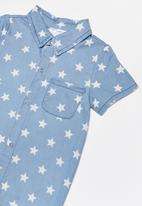 POP CANDY - Infant boys romper - blue