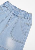 POP CANDY - Infant girls shorts - blue