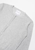 POP CANDY - Lightweight cardigan - grey