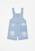 POP CANDY - Infant boys dungarees - blue