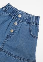 POP CANDY - Denim skirt - blue