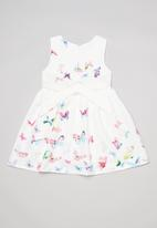POP CANDY - Butterfly printed dress - multi