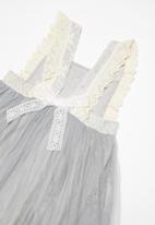 POP CANDY - Combo dress - grey