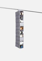 Storage Solutions - 10-tier shoe organiser - dark grey