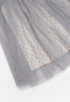 POP CANDY - Mesh skirt - grey