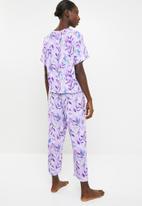 Superbalist - Sleep T-shirt & culotte set - multi