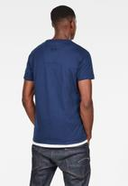 G-Star RAW - 30YR short sleeve tee - blue