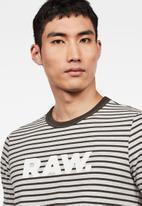 G-Star RAW - Resistor short sleeve tee -  charcoal & grey
