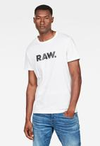 G-Star RAW - Holorn  short sleeve - white