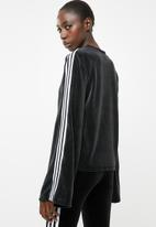 adidas Originals - Lifestyle velvet sweater - black & white