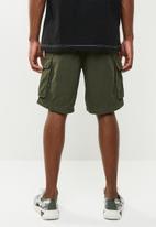 Brave Soul - Riverwork shorts - khaki