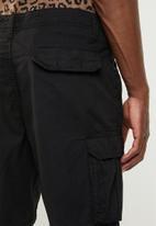 Brave Soul - Riverwork shorts - black