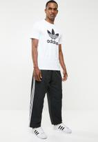 adidas Originals - Straight 3stripe track pants - black & white
