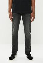 Cotton On - Tapered leg jeans - black