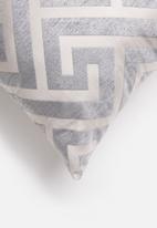 Grey Gardens - Geo cushion cover - beige