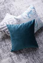 Grey Gardens - Trinket cushion cover - storm